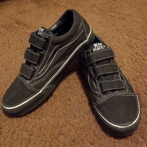 4178376606a5af Vans Shoes - Rise Against Prison Issue Vans RARE VEGAN